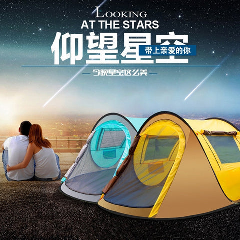 Waterproof Automatic Outdoor Camping Fishing Tent