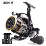 LINNHUE High Speed Metal Spool Spinning Reel Reel carp