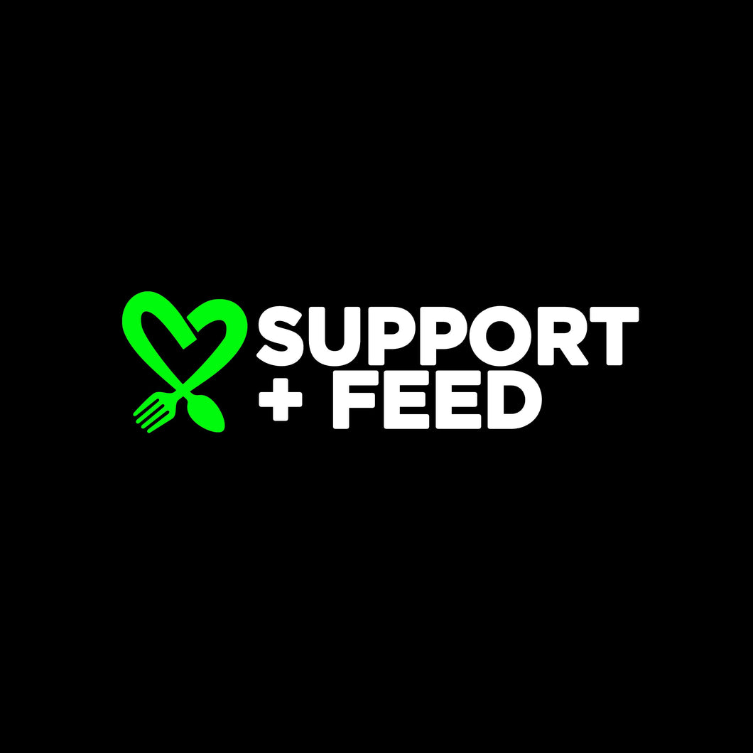 Support + Feed - Help us Feed People In Need This Summer ($10 - $1,000)