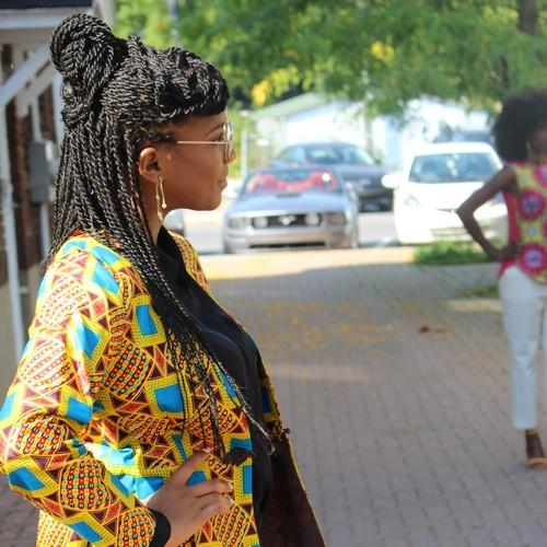 African print lovers take on Montreal | Effy Style