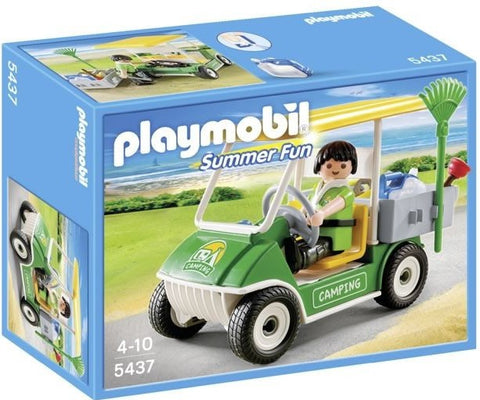 Playmobil 5437 Summer Fun Camping Service Cart