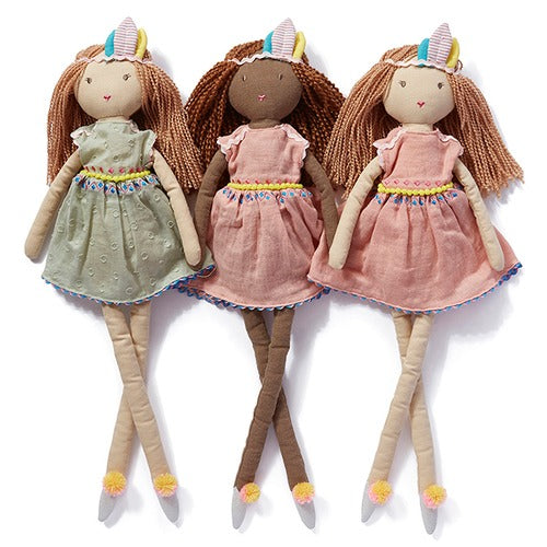 Nana Huchy Miss Luna Doll, Miss Willow Doll and Miss Summer Doll