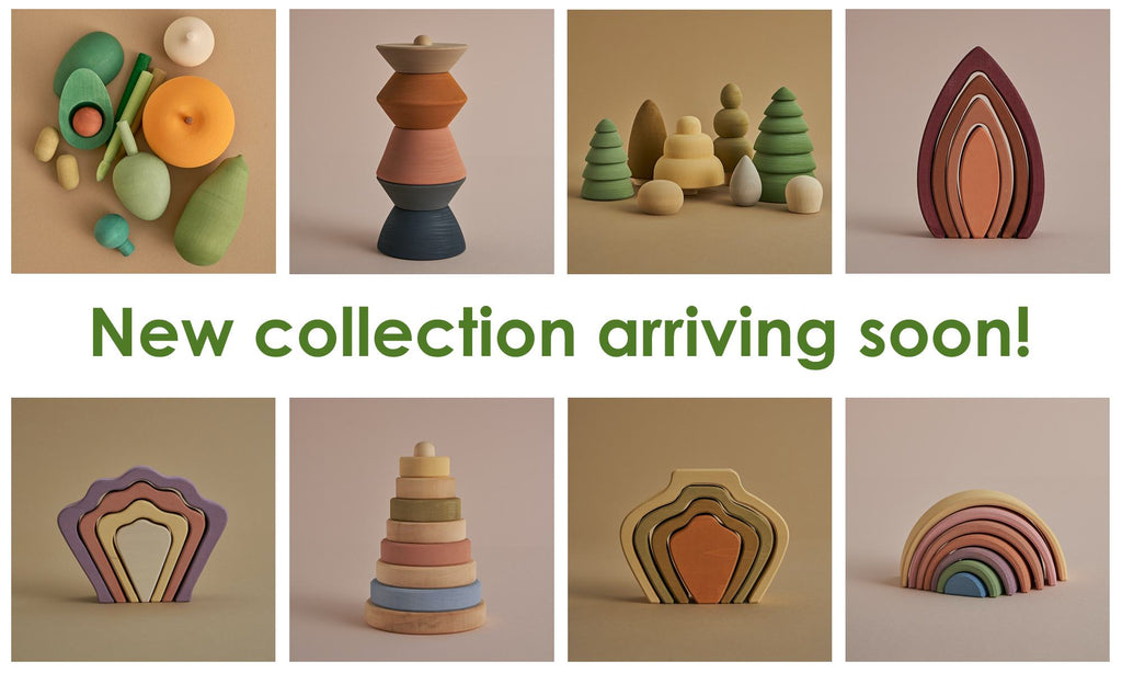 Raduga Grëz wooden toys new collection