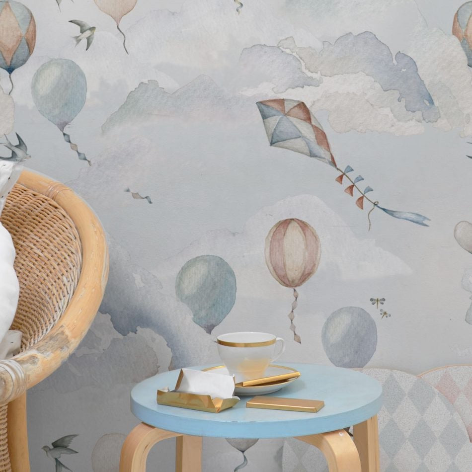 Dekornik Balloons Fairytale Wallpaper