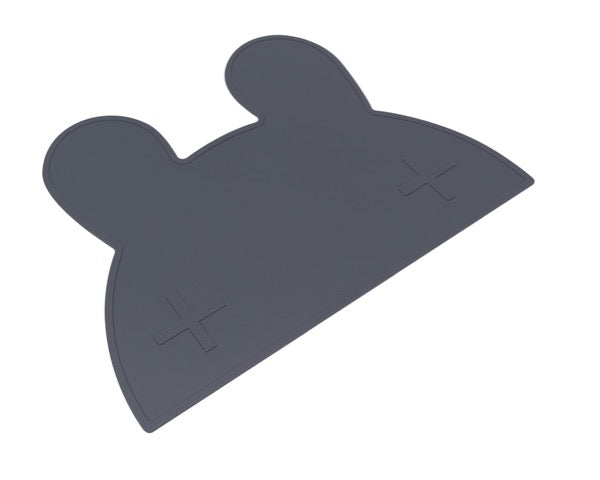 We Might Be Tiny Charcoal Bear Placemat