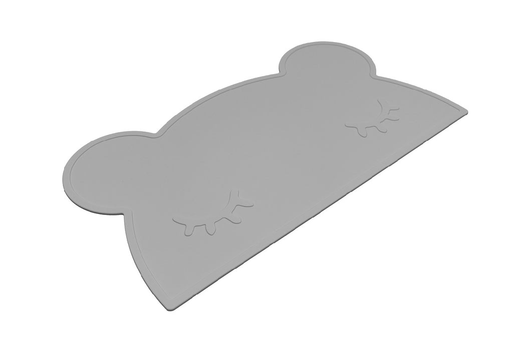 We Might Be Tiny Grey Bear Placemat