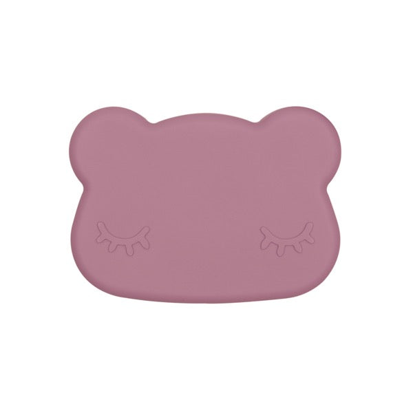 We Might Be Tiny Bear Snack Container - Dusty Rose