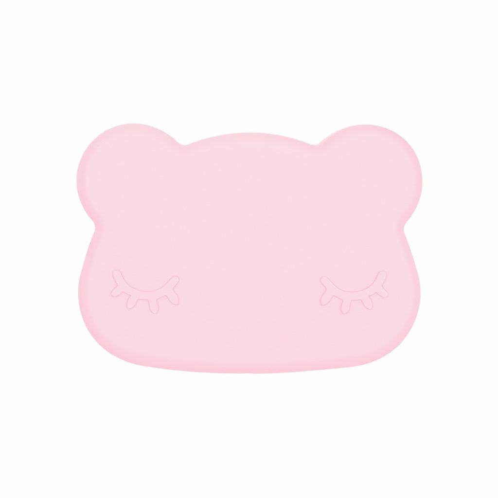 We Might Be Tiny Bear Snack Container - Powder Pink