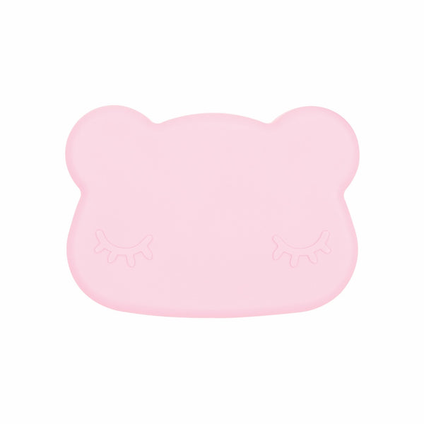We Might Be Tiny Bear Snackie - Powder Pink