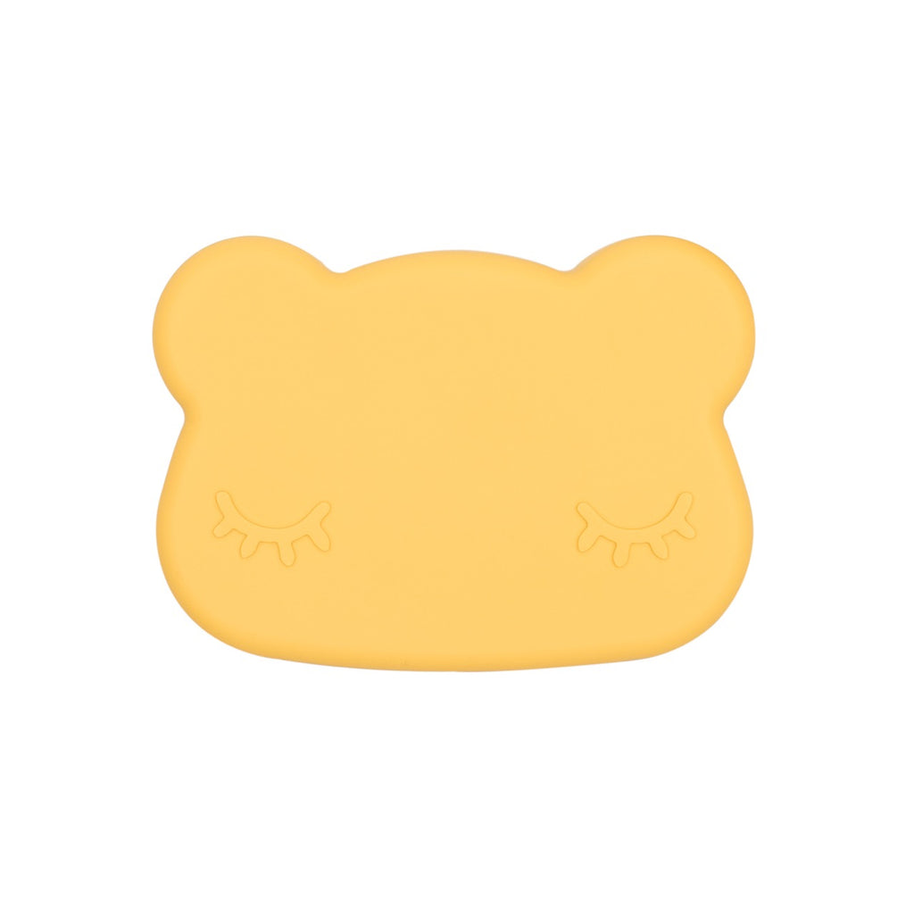 We Might Be Tiny Bear Snack Container - Yellow
