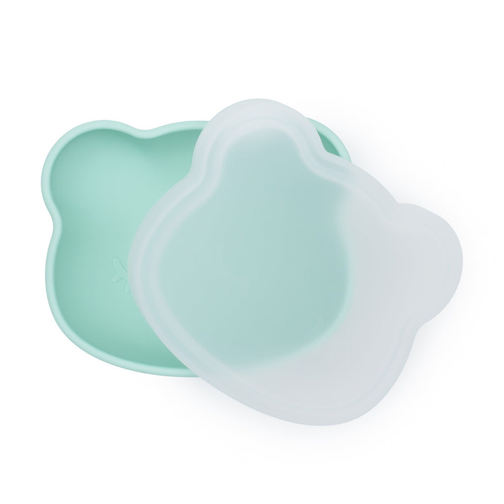 We Might Be Tiny Mint Silicone Stickie Bowl with lid