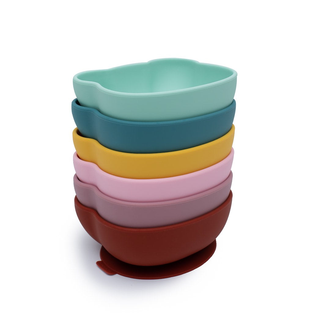 We Might Be Tiny Stickie Bowls stacked - all colours