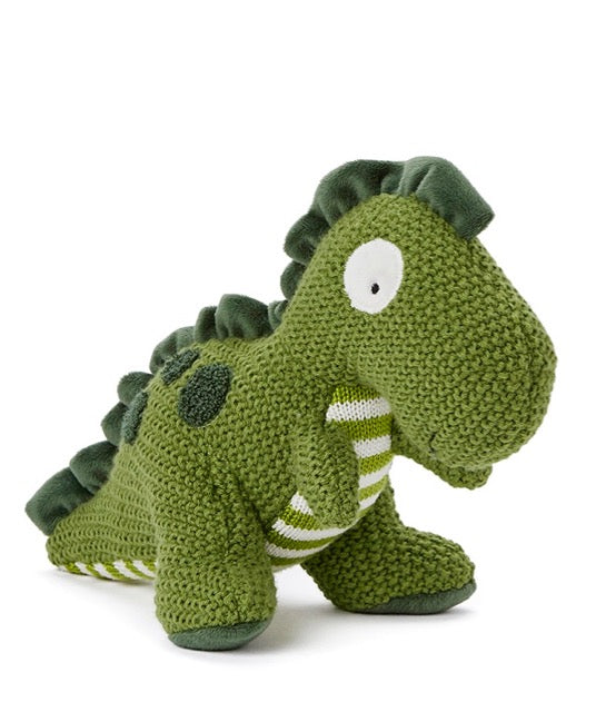 Nana Huchy Green T Rex Soft Toy