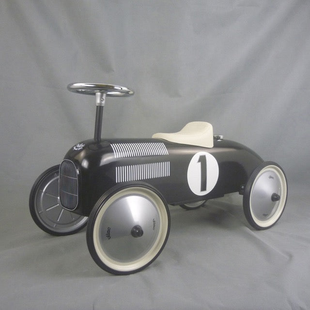 Black Ride On Classic Toy Car