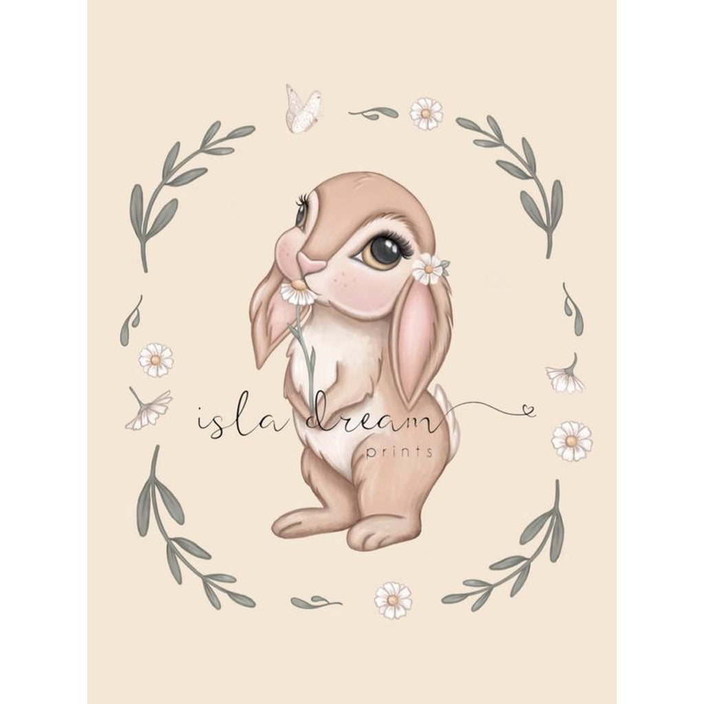 Isla Dream Prints Bunny Magic Art Print