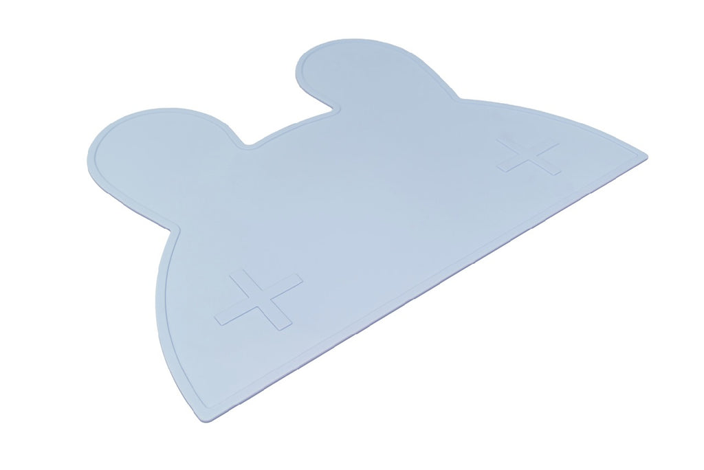 We Might Be Tiny Powder Blue Bunny Placemat