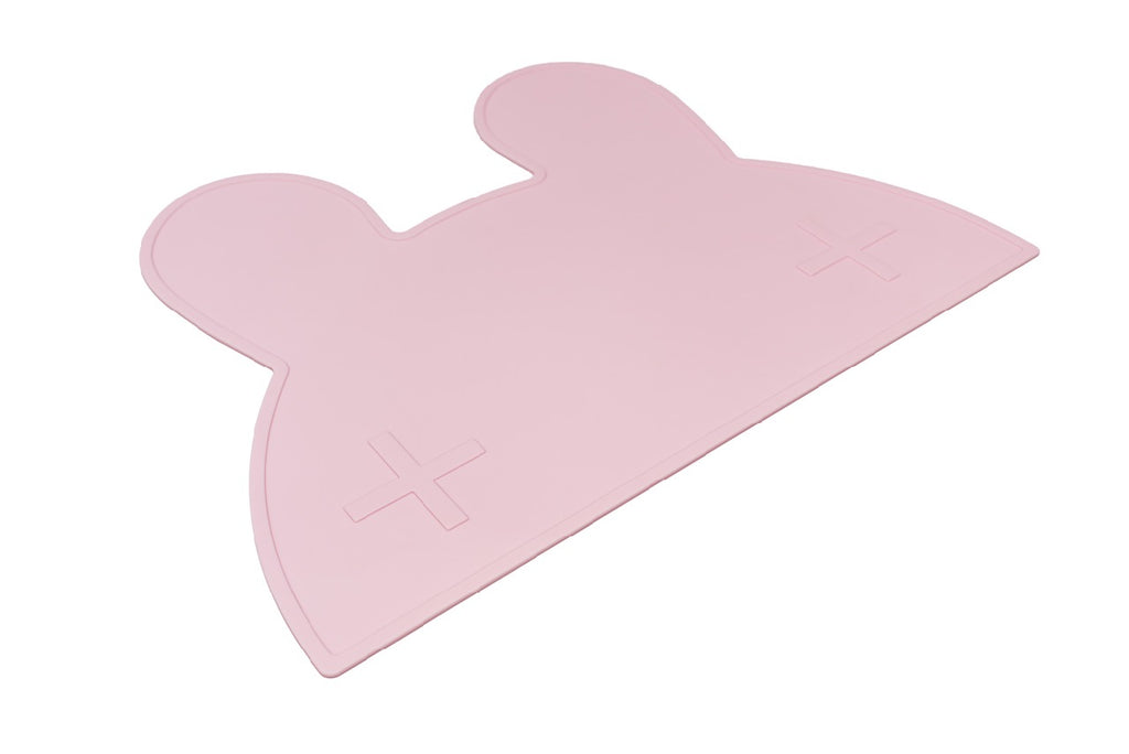 We Might Be Tiny Powder Pink Bunny Placemat