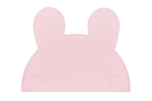 We Might Be Tiny Bunny Placie - Powder Pink