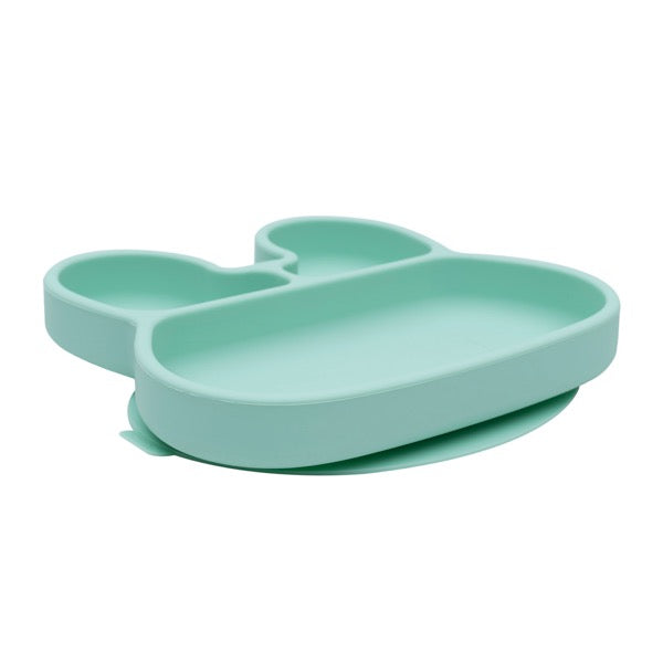 We Might Be Tiny Mint Bunny Suction Plate