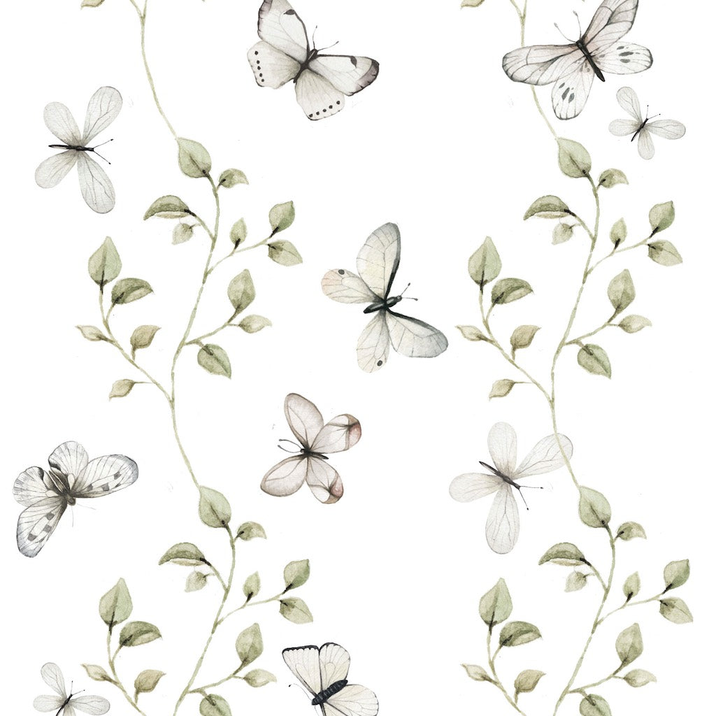 Dekornik Butterflies Having Fun Wallpaper