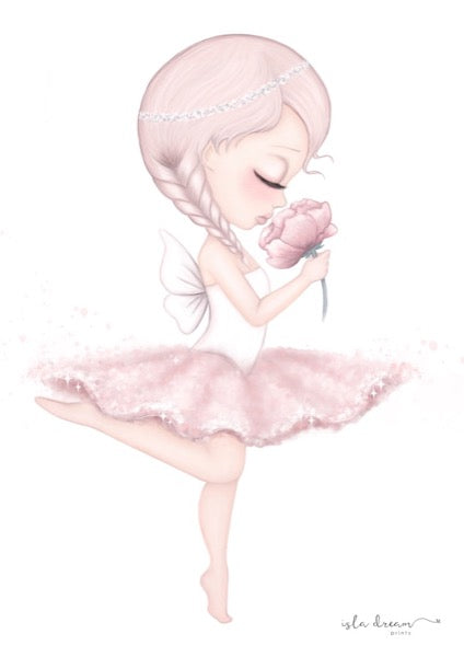 Isla Dream Prints Crysta The Ballerina Fairy Print