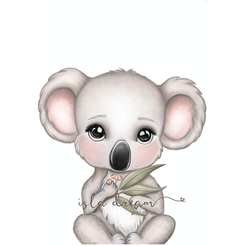 Isla Dream Prints Euca The Koala Print