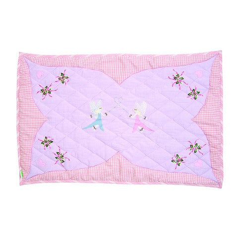 Fairy Cottage Playhouse Floor Quilt
