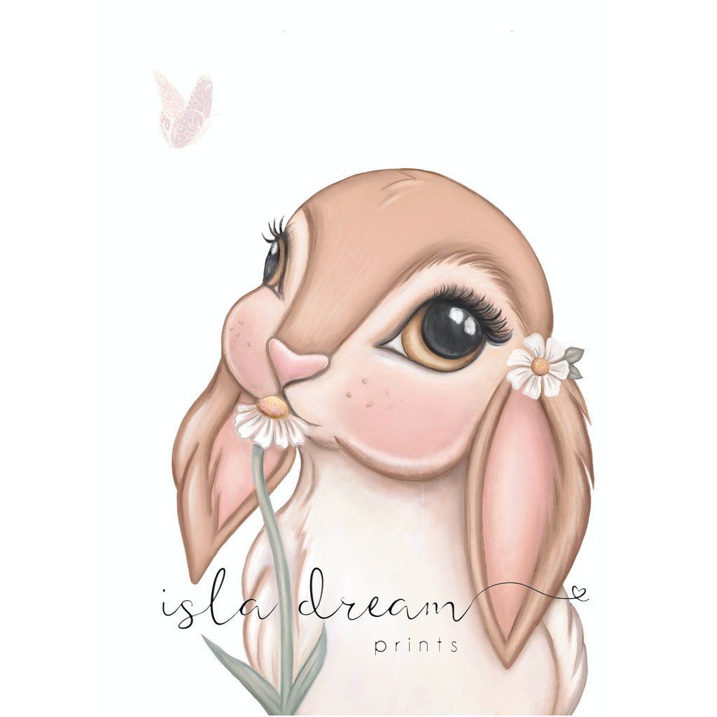 Isla Dream Prints Fawn Bunny Print