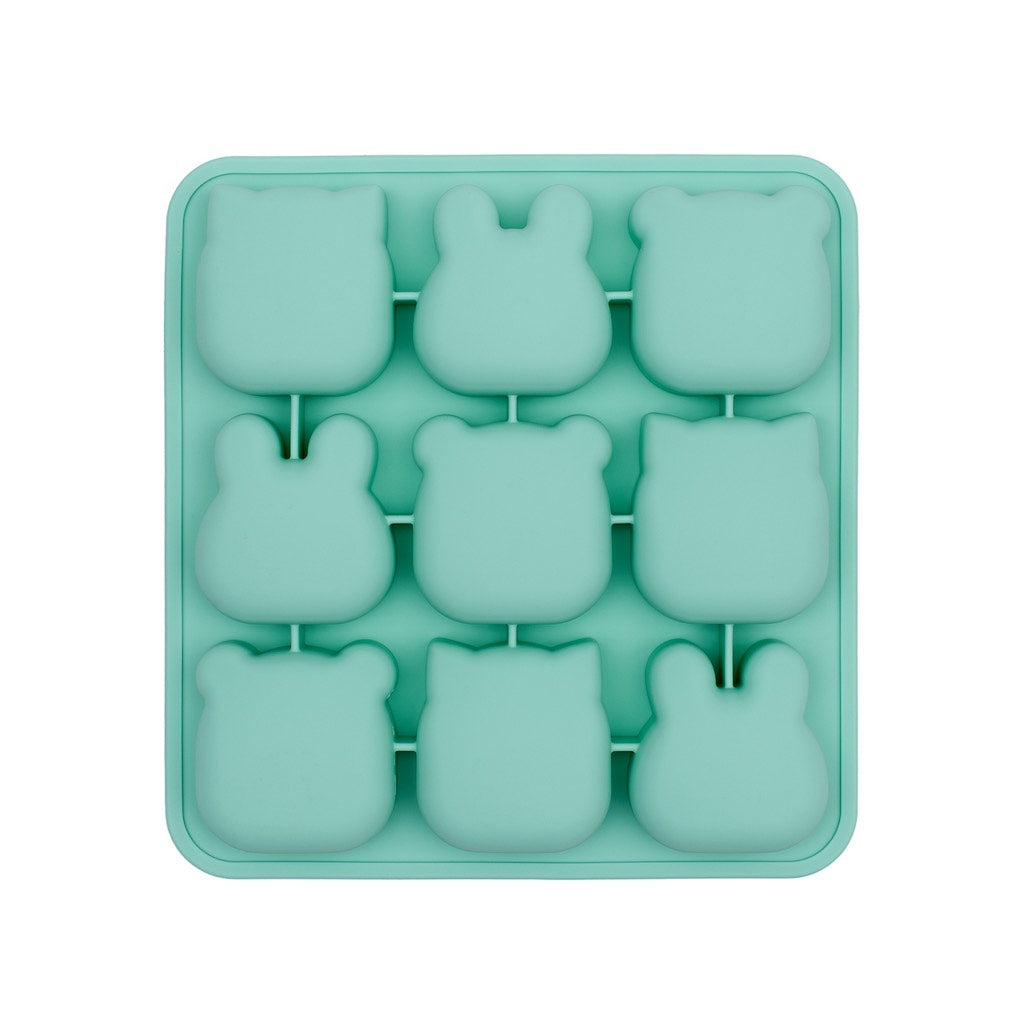We Might Be Tiny Mint Silicone Freeze & Bake Poddies bottom