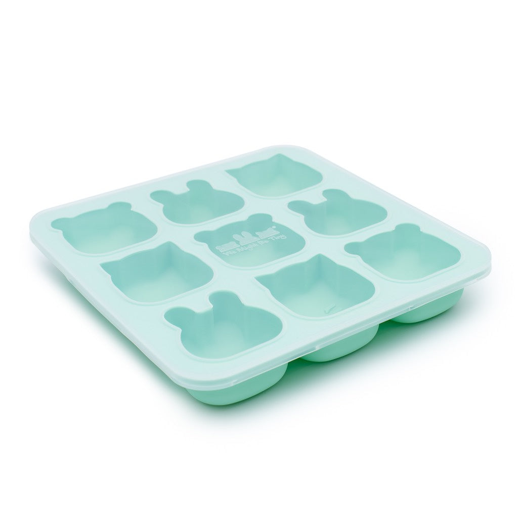We Might Be Tiny Mint Silicone Freeze & Bake Poddies with lid