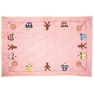 Gingerbread Cottage Playhouse Floor Quilt