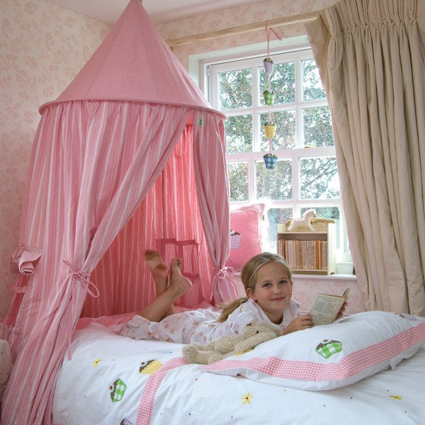 Hanging Tent | Rose Multi Stripe