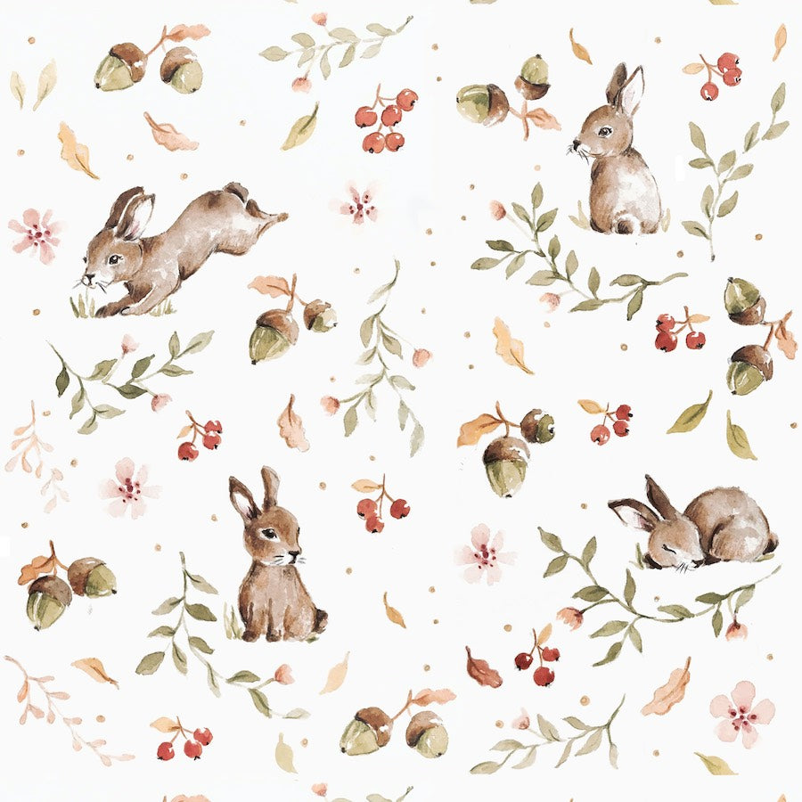 Dekornik Happy Rabbits Wallpaper