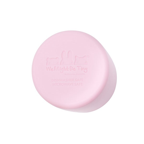 We Might Be Tiny Kids Grip Cup - Powder Pink