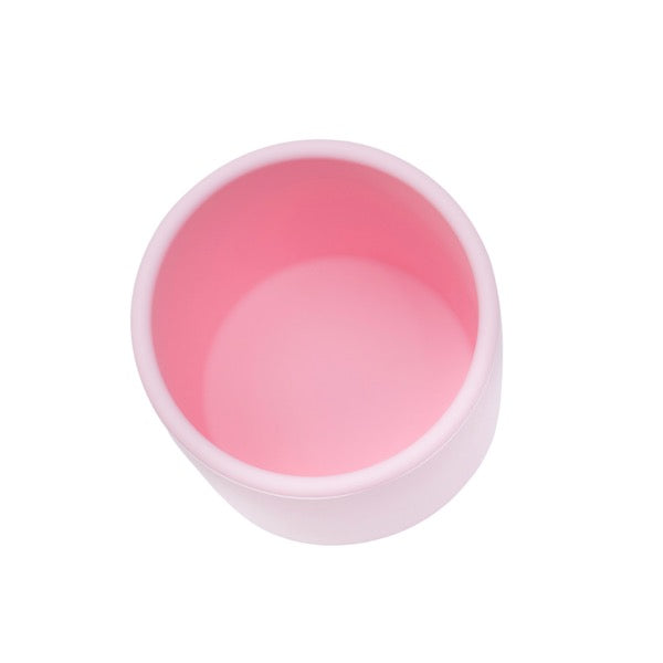 We Might Be Tiny Powder Pink Grip Cup