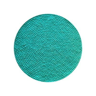 Winston & Grace Felt Ball Rug - Mermaid's Tail