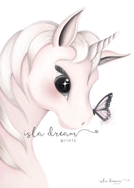Isla Dream Prints Mila Unicorn Print Oliver Thomas Children S Boutique