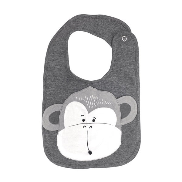 Mister Fly Monkey Face Bib