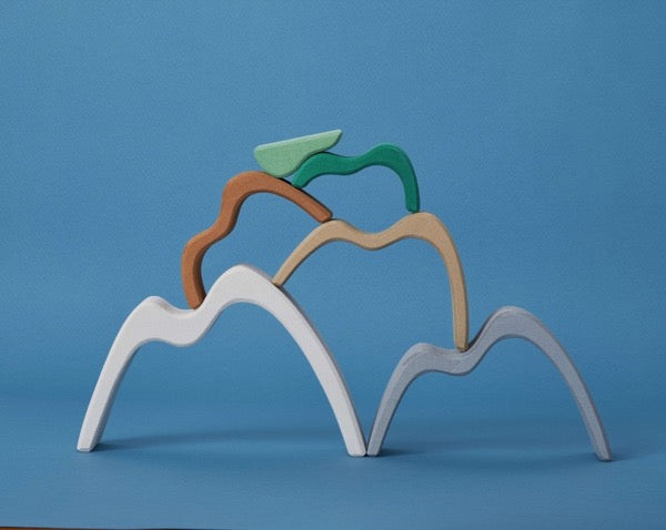 Mountains Shape Stacking Toy