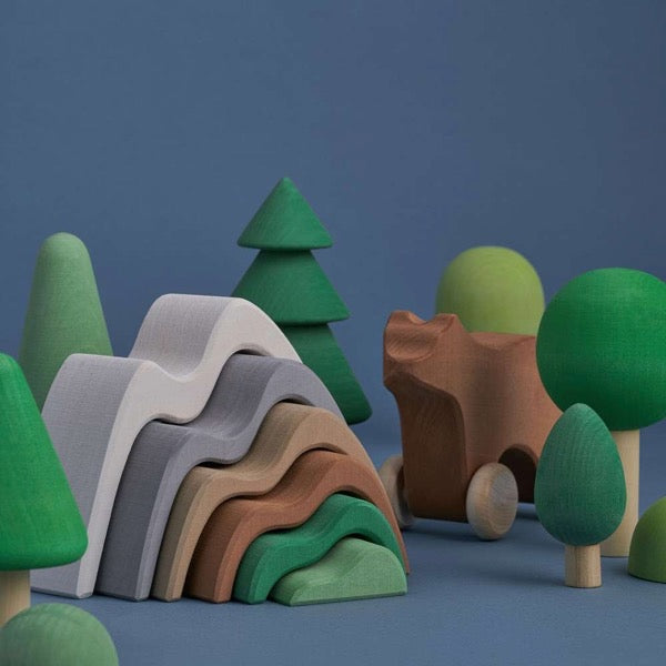 Raduga Grëz Mountains Stacking Toy