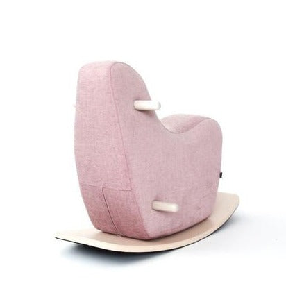 Ooh Noo Pale Pink Toddler Rocking Horse