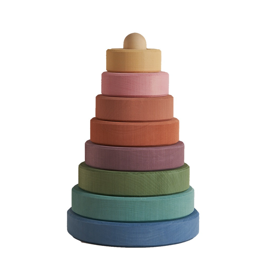 Raduga Grëz Pastel Earth Stacking Tower