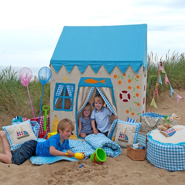 Win Green Beach House Kids Playhouse