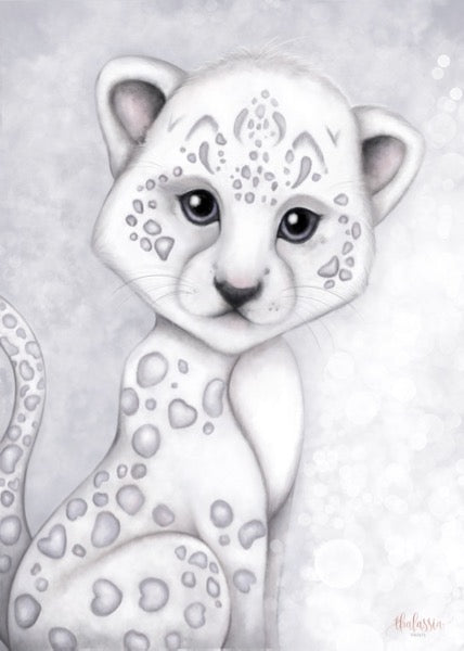 Isla Dream Prints Prince The Snow Leopard Print