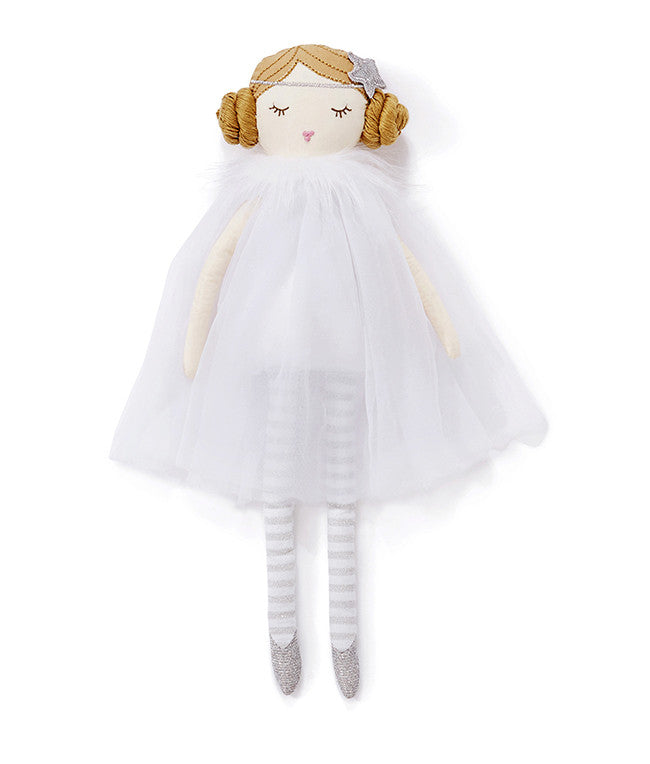 Miss Olive Doll with white dress