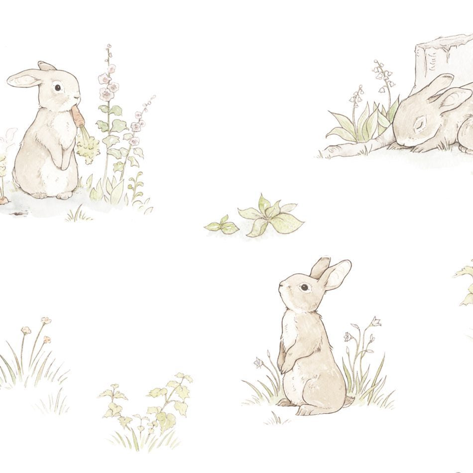 Rabbit Day Classic Wallpaper