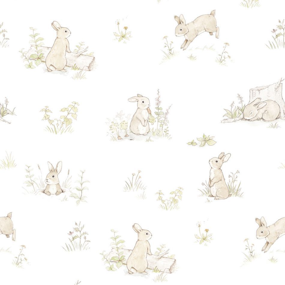 Dekornik Rabbit Day Classic Wallpaper
