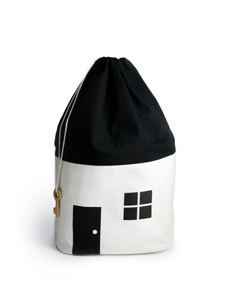 Rock & Pebble House No. 1 Organic Storage Bag - Oliver Thomas Children's Boutique