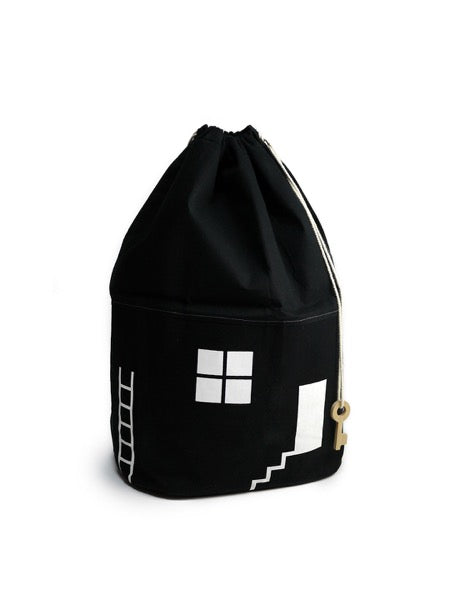 Rock & Pebble House No. 2 Organic Storage Bag - Oliver Thomas Children's Boutique