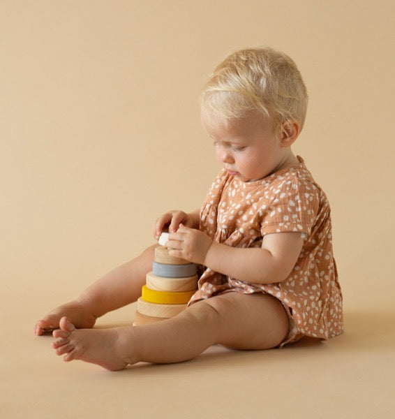 Sand Wooden Stacking Toy